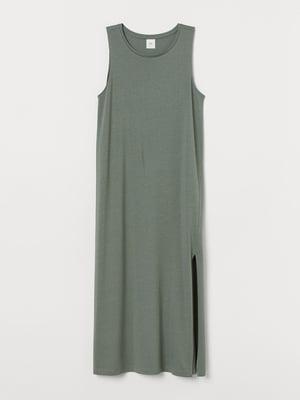 Платье цвета хаки | 5618488