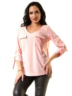 Блуза розовая | 5360315