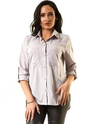 Блуза сіра | 5360332