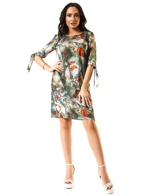 Сукня кольору хакі | 5360343