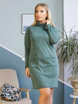 Платье зеленое | 5618719