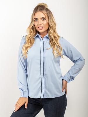 Рубашка голубая | 5618750