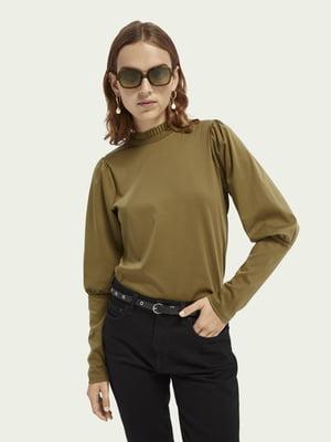 Блуза цвета хаки | 5618307