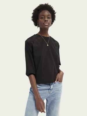 Блуза черная | 5618313