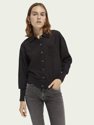 Рубашка черная | 5618316