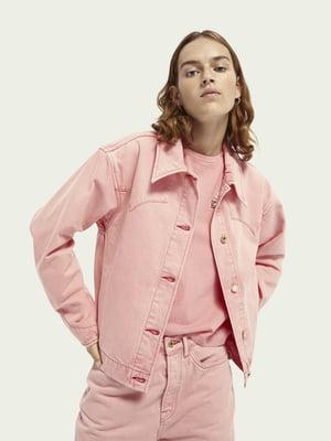 Куртка рожева | 5618323