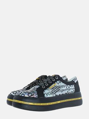 Кроссовки черные | 5618931