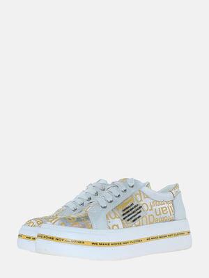 Кросівки золотистого кольору | 5618932