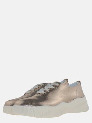 Кросівки золотистого кольору | 5618956