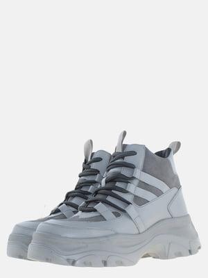 Ботинки серые | 5614100