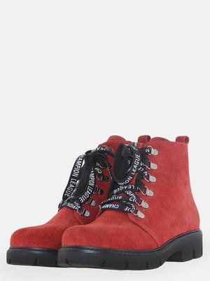 Ботинки красные | 5618885