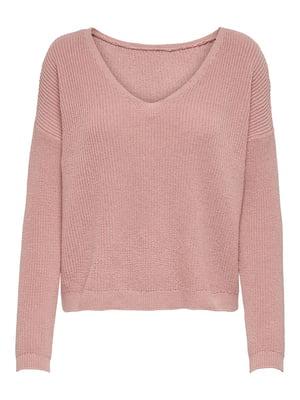 Пуловер розовый | 5618335