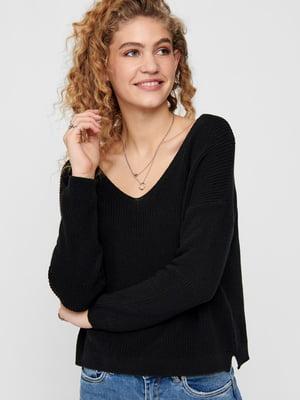 Пуловер чорний | 5618336