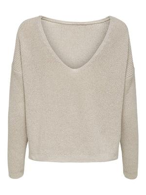 Пуловер бузкового кольору | 5618337