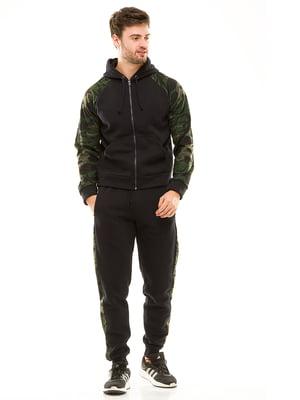 Костюм спортивный: толстовка и брюки | 4641050
