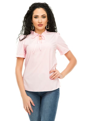 Блуза розовая | 4917451