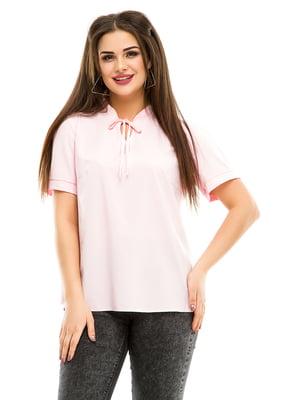 Блуза розовая | 4917452