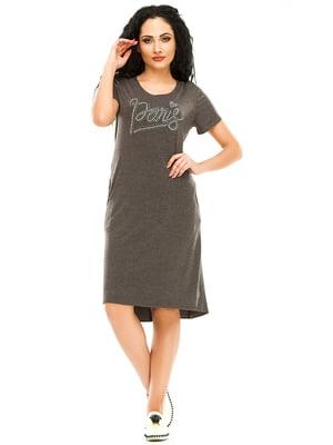 Сукня темно-сіра | 4973552
