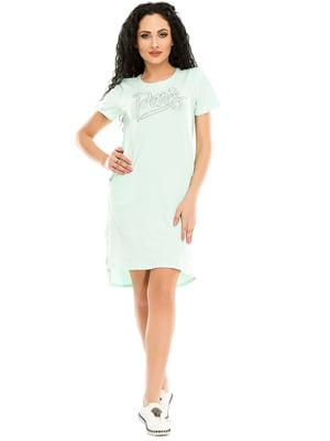 Сукня м'ятного кольору | 4973558