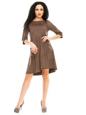 Сукня кольору мокко | 4973576
