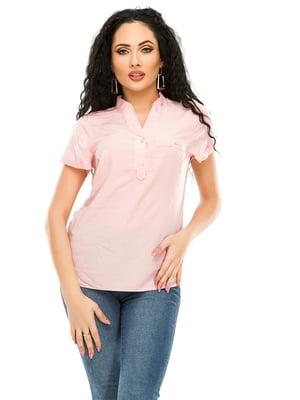 Рубашка розовая | 4979878