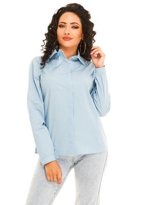 Рубашка голубая | 5181211