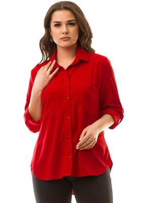 Рубашка красная | 5381929