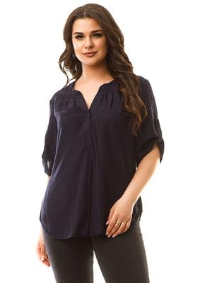 Блуза темно-синя | 5381949