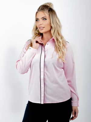 Блуза цвета пудры | 5618729