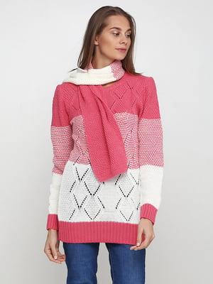 Комплект: туника и шарф | 5619340