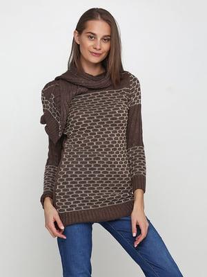 Комплект: туника и шарф | 5619342