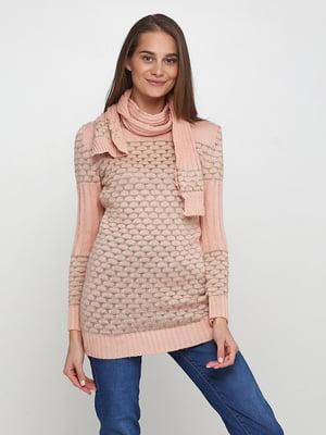 Комплект: туника и шарф | 5619343