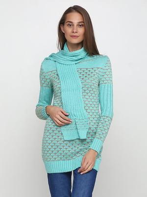 Комплект: туника и шарф | 5619344