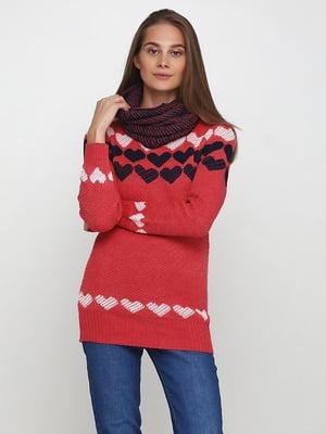 Комплект: туника и шарф | 5619350