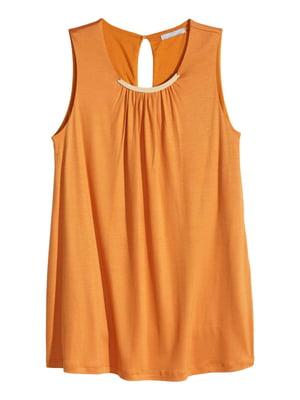 Блуза горчичного цвета | 5619724
