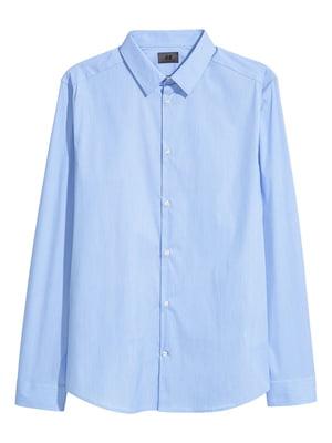 Сорочка блакитна | 5619784