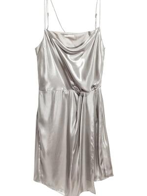 Сукня сріблястого кольору | 5619994