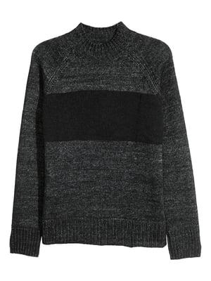 Свитер темно-серый   5620037