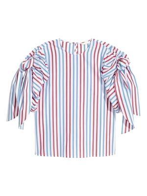Блуза разноцветная в полоску | 5620128