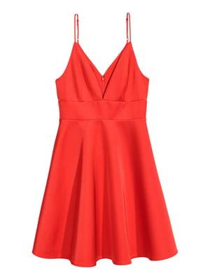 Сукня яскраво-червона | 5620131