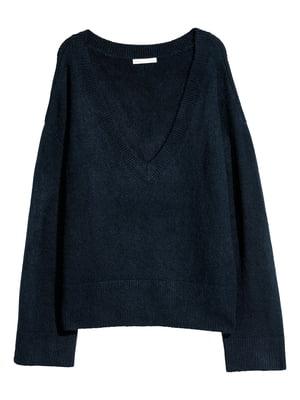 Пуловер темно-синий | 5620148