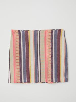 Юбка разноцветная в полоску | 5620161