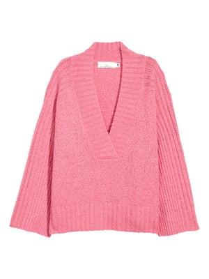Пуловер рожевий | 5620173