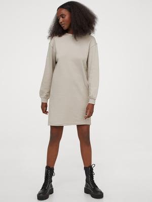 Сукня світло-сіра | 5620272