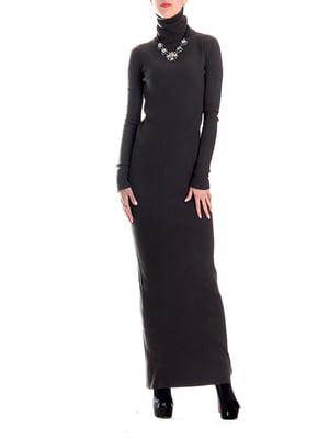 Платье коричневого цвета | 5294438