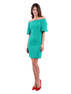 Сукня бірюзового кольору | 5619415