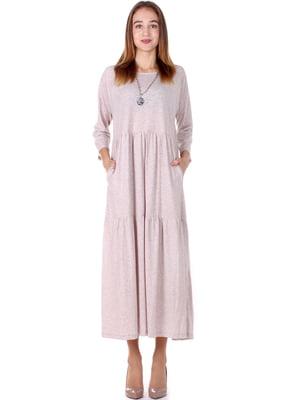 Сукня бежевого кольору | 5619418