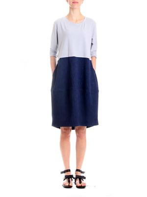 Сукня сіро-синя | 5619408