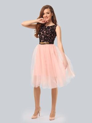 Сукня двокольорова | 5620670