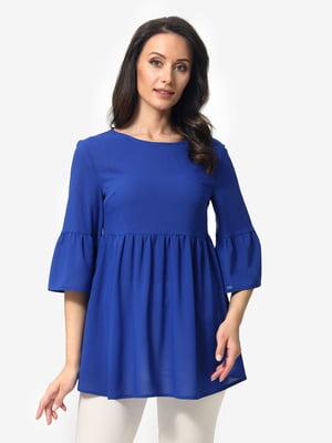 Блуза синяя   5621175